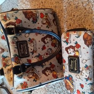 beauty and the beast purse and wallet